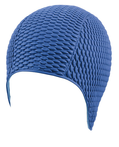 Beco Womens Latex Bubble Cap Blue - Clickswim.com