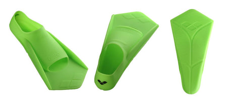 Arena Training Powerfin Acid Lime/Black - Clickswim.com