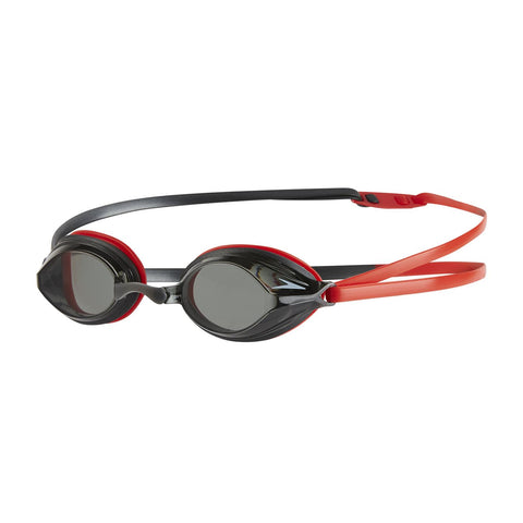 Speedo Adult Unisex Goggles Vengeance Red/Smoke - Clickswim.com