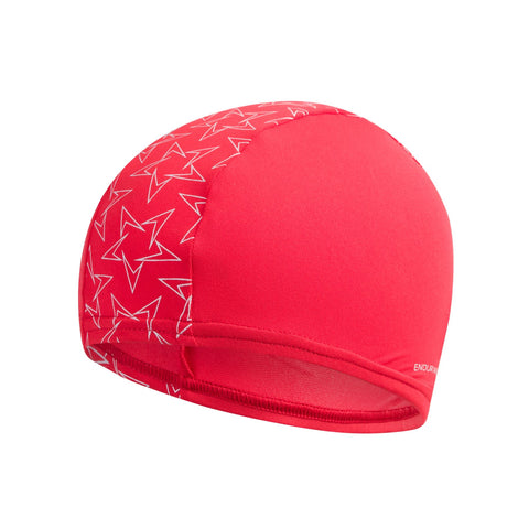 Speedo Boomstar Endurance + Cap Adult Lava Red / White