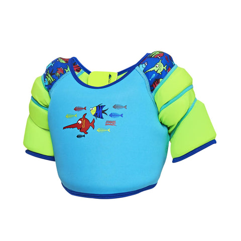 Zoggs Sea Saw Water Wings Float Swimming Vest Aqua - Clickswim.com