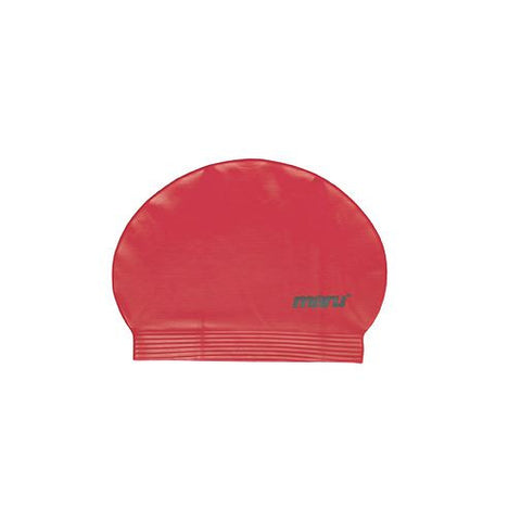 Maru Fast Flow Adult Latex Swim Hat Red - Clickswim.com