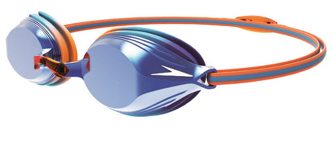 Speedo Junior Unisex Goggles Vengeance Mirror Orange/Blue - Clickswim.com