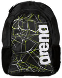 Arena Swim Bag Water Spiky 2 Backpack Black 30L - Clickswim.com