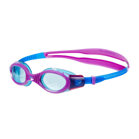 Speedo Junior Futura Biofuse Flexiseal Goggles Purple - Clickswim.com