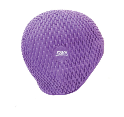 Zoggs Adult Bubble Cap Purple - Clickswim.com