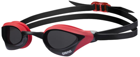 Arena Cobra Core Goggles Red/Smoke - Clickswim.com