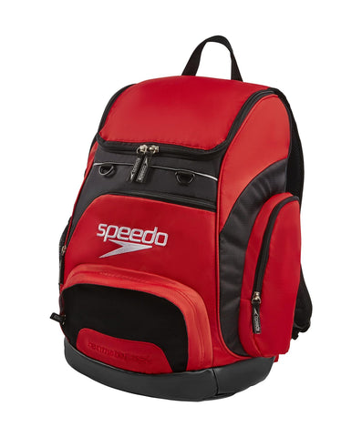 Speedo Teamster Rucksack 35L Red/Black - Clickswim.com