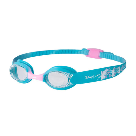 Speedo Illusion Goggles Infant Bali Blue/Pink Splash/Clear - Clickswim.com