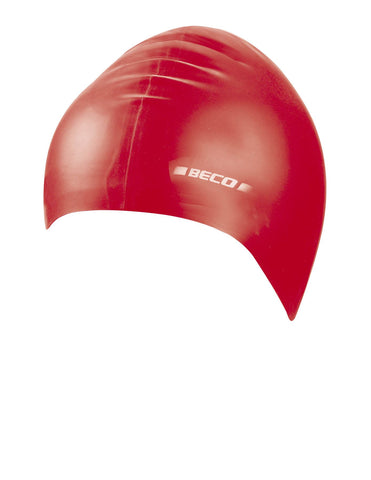 Beco Junior Silicone Cap  Red - Clickswim.com