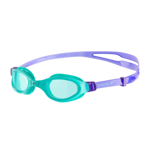 Speedo Junior Unisex Goggles Futura Plus Junior Purple / Green