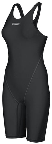 Arena Womens Powerskin ST 2.0 Full Body Short Leg Open Back Black - Clickswim.com