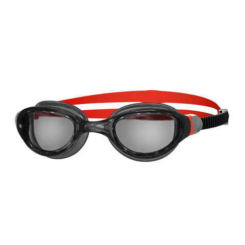 Phantom 2.0 Adult Goggles Black/Red/Smoke - Clickswim.com