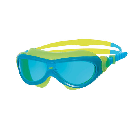 Zoggs Phantom Junior Mask Blue Green - Clickswim.com