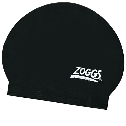 Zoggs Junior Latex Cap Black - Clickswim.com