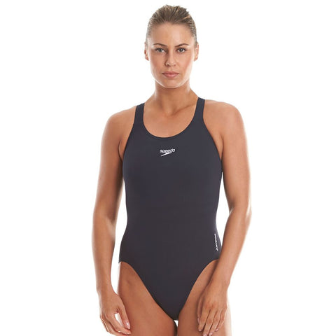 Speedo Womens Endurance Swimsuit Navy - Clickswim.com