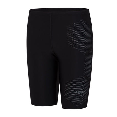 Speedo Tech Placement Jammer Boys Black / Ardesia