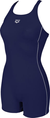 Womens Finding High Max Life Swimsuit Navy White - Clickswim.com