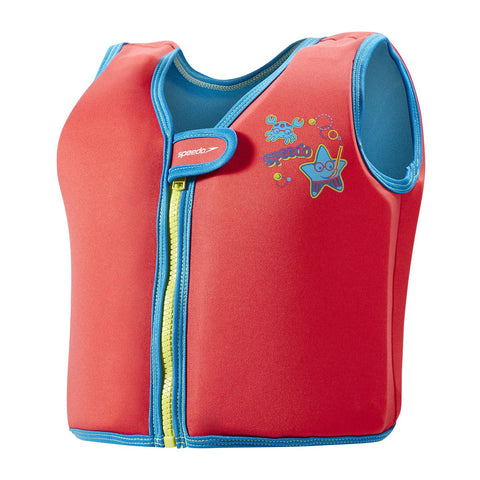 Sea Squad Infant Float Vest Lava Red - clickswim.com