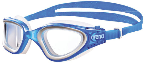 Arena Adult Training Goggles Envision Blue/Clear/Blue - Clickswim.com