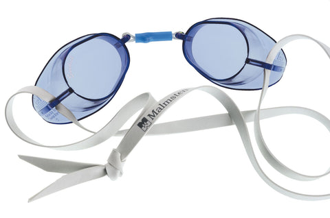 Malmsten Swedish Anti-Fog Adult Goggles Blue - Clickswim.com
