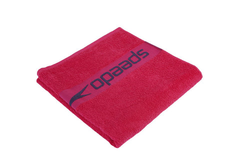 Speedo Border Towel Ecstatic / USA Charcoal - Clickswim.com