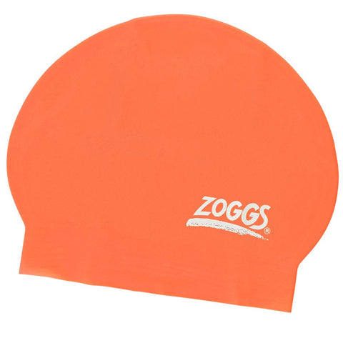 Zoggs Junior Latex Cap Red - Clickswim.com