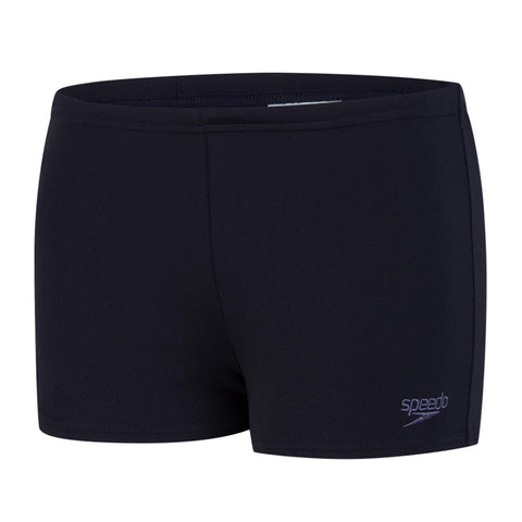 Speedo Essential Endurance+ Aqua Short Boys True Navy - Clickswim.com