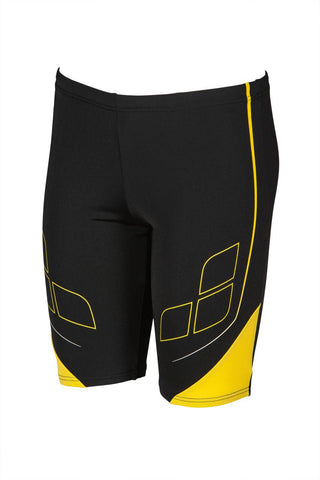 Boys Destiny Junior Jammer Maxlife Black Yellow Star - Clickswim.com