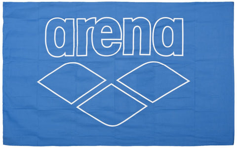 Arena Pool Smart Towel Royal White - Clickswim.com