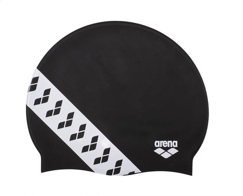 Arena Team  Stripe Cap Touch Cap Black - Clickswim.com