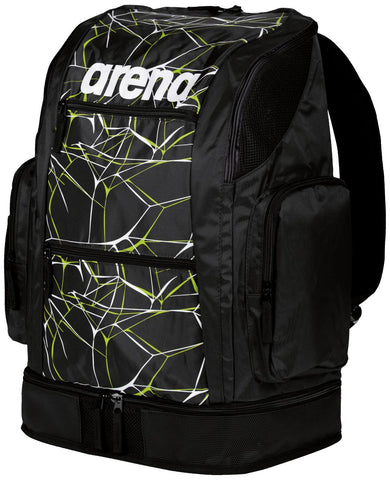 Arena Swim Bag Water Spiky 2 Large Backpack Black 40L - Clickswim.com