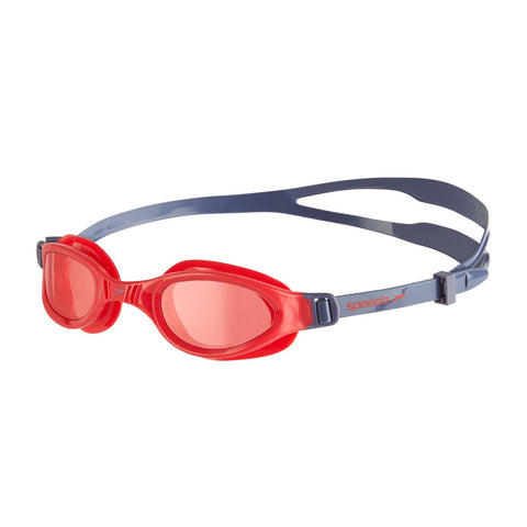 Speedo Futura Plus Junior Goggle Red/Purple - Clickswim.com