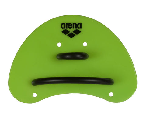 Arena Training Elite Finger Paddle Acid Lime/Black - Clickswim.com