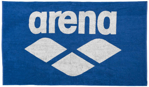Arena Pool Soft Towel Royal White - Clickswim.com