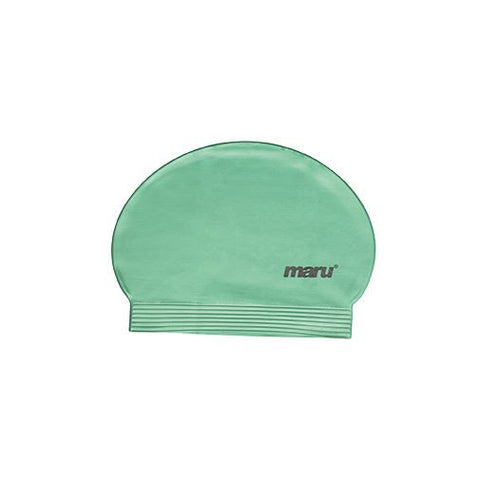 Maru Fast Flow Adult Latex Swim Hat Green - Clickswim.com