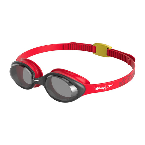 Speedo Illusion Goggles Junior Lava Red/Black/Smoke - Clickswim.com