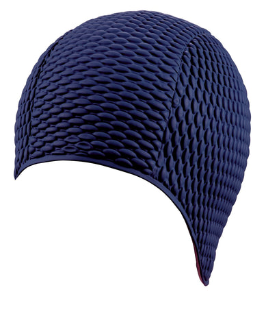 Beco Girls Latex Bubble Cap Navy - Clickswim.com