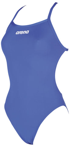 Arena Original Touch Womens Swimsuit Solid Light Tech High Royal/White