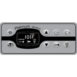 Platinum Series Topside Control Panel