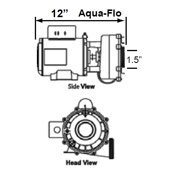J400/880 High Flow AquaFlo Circulation Pump