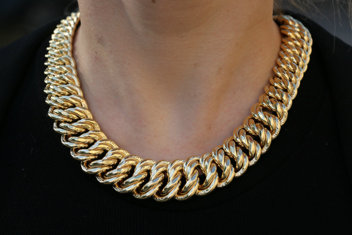 Gold Jewelry Miami Cuban Link Tampa Jewelers Rope