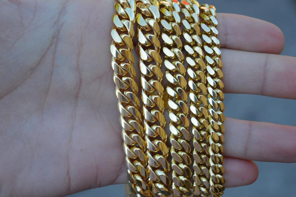 In-Stock Miami Cuban Link Chains