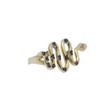 14kt Yellow Gold Women Snake Ring 3.4g-ring-lirysjewelry