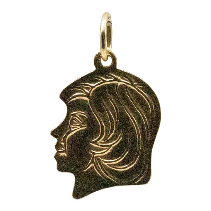 14kt Yellow Gold Women Pendant 0.9g-lirysjewelry