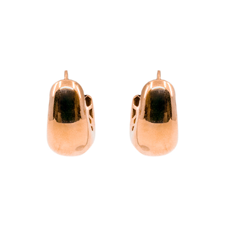 14kt Yellow Gold Women's Fashion Hollow Earring 5.2g-earring-lirysjewelry