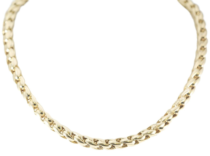 14kt Yellow Gold Women Fancy Hollow Necklace 20.0g-lirysjewelry
