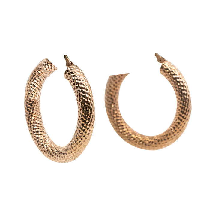 14kt Rose Gold Fashion Women's Earring 7.8g-earring-lirysjewelry