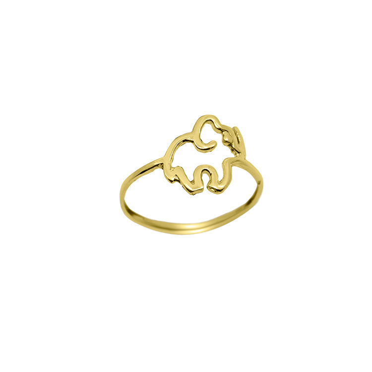simple elephant ring 1.3g-ring-lirysjewelry