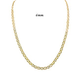 Solid 10kt Yellow Gold Mariner/Gucci Necklace-lirysjewelry